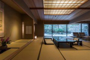 庭園露天風呂付特別室 ツインベッド和洋室